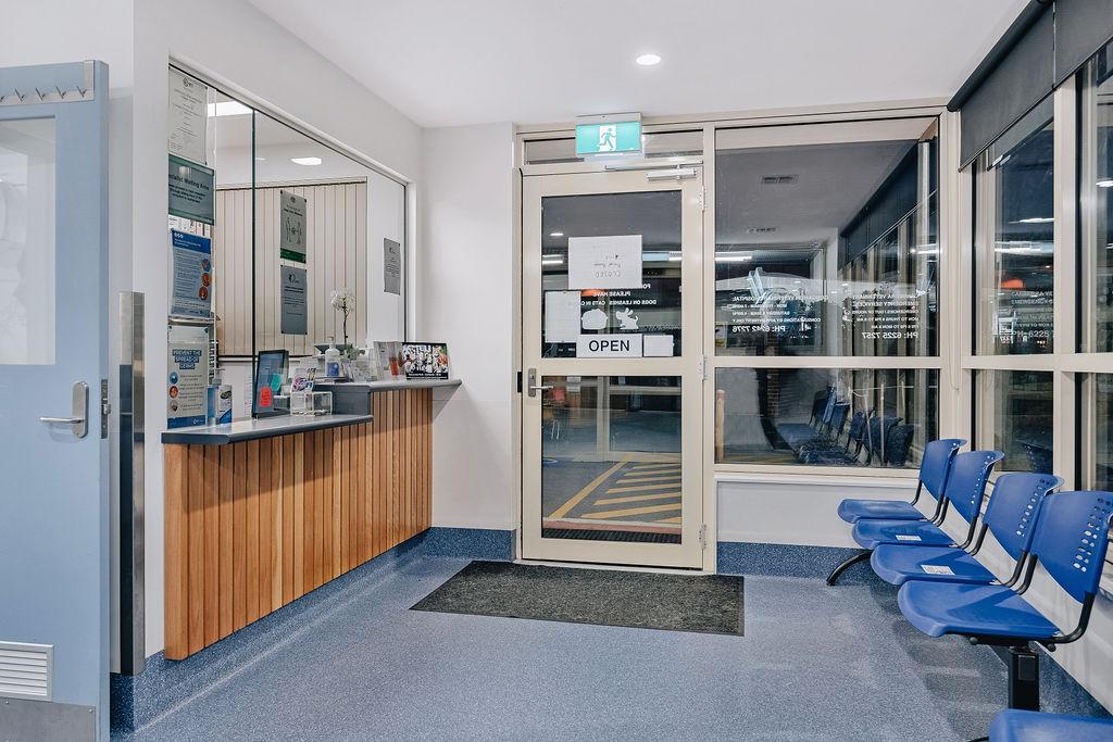 CVES Reception Area